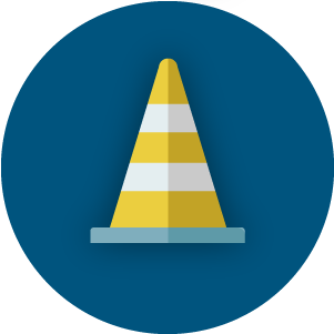 Road Closures Icon