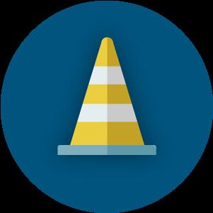 Road Closures Icon